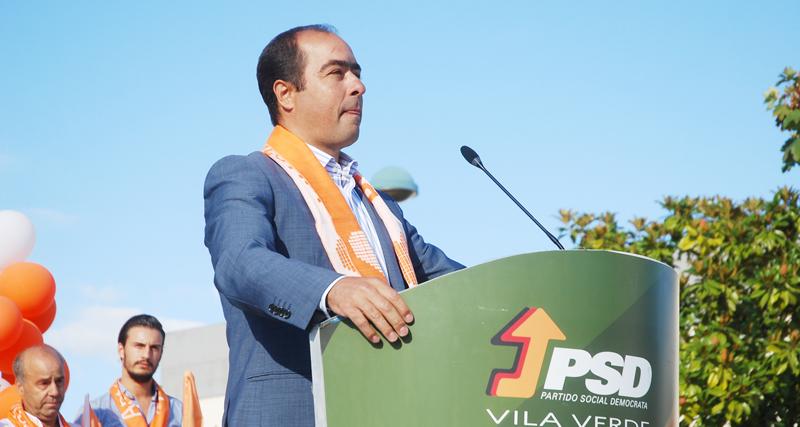 """PSD de Vila Verde diz que Câmara Municipal está a """"agir no presente e a projectar o futuro"""""""