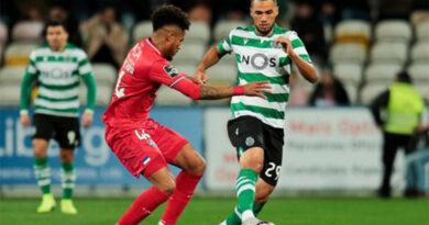 Gil Vicente perde com o Sporting e leões aumentam vantagem no terceiro lugar