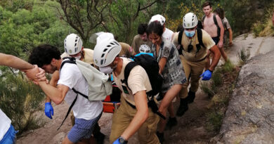 Jovem fraturou perna e braço numa cascata no Gerês