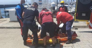 Resgate de tripulante com AVC ao largo do Cabo da Roca
