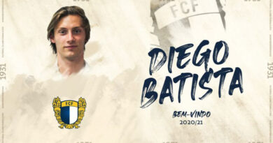 Famalicão contrata Diego Batista ao Benfica
