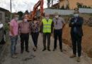 Presidentes da Câmara de Vila Verde e de Junta visitam obra de requalificação da estrada que liga Revenda, em Travassós, a Godinhaços