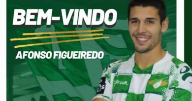 Afonso Figueiredo é reforço do Moreirense
