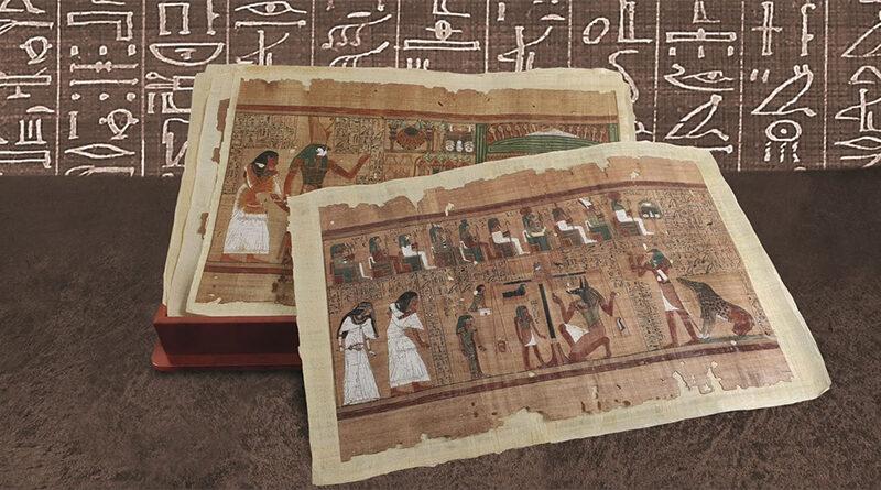 """Arqueólogos egípcios encontram cópia de capítulo do """"Livro dos Mortos"""""""