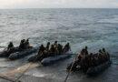 Fuzileiros preparam missão em navio francês para apoio à segurança marítima no Golfo da Guiné
