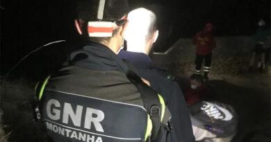 Bombeiros e GNR resgatam casais espanhóis no Gerês