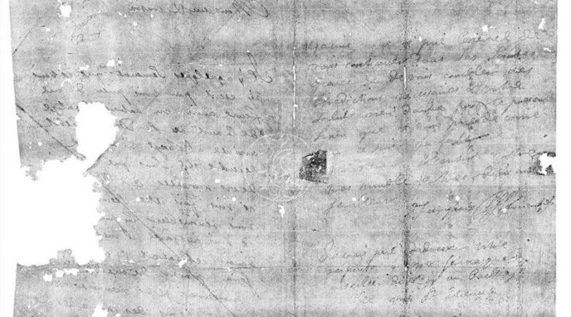 Cientistas conseguiram ler uma carta dobrada com 300 anos sem sequer a abrir