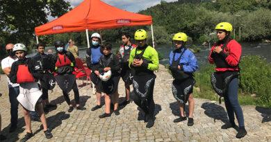 Quatro atletas da DKC de Viana convocados para 2º estágio das seleções nacionais de canoagem