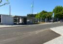 Arranjo na zona frontal da Escola EB 2,3 de Vila Verde
