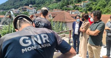Unidade de Emergência Proteção e Socorro da GNR instalada em Terras de Bouro