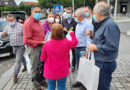 Juntos por Amares inicia campanha na feira semanal