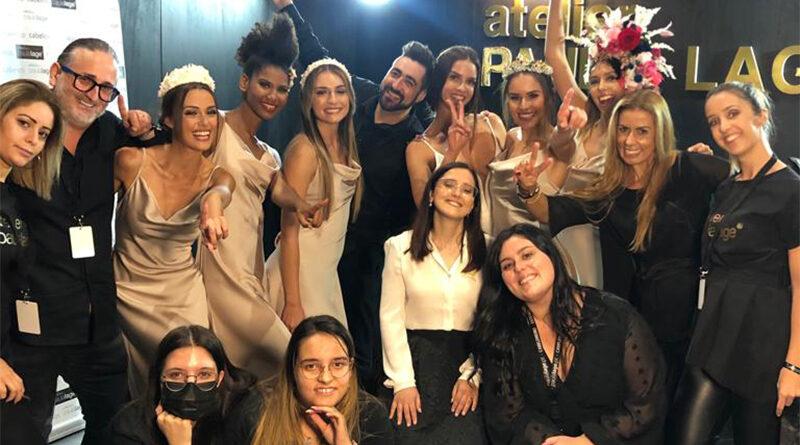 Alunas do curso de cabeleireiro da EPATV participam no Braga Noivos 2021
